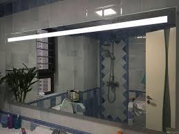 Anti Fog Mirrors For Bathroom Wall Type Frameless Led Lighting Effect Anti Fog Mirror Bathroom