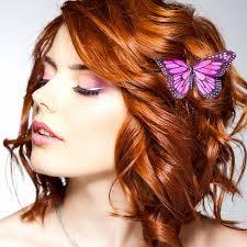 Frisuren Mittellange Haar Locken by Rot Gefärbte Mittellange Haare Mit Locken Rote Haare