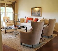 High Back Wing Chairs For Living Room Nailhead Wingback Chairs And High Back Sofa With Finials