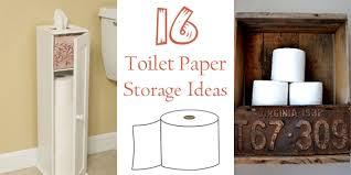 Bathroom Tissue Storage 16 Practical And Creative Toilet Paper Storage Ideas Toilet Paper