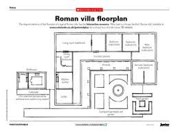 villa house plans floor plans roman villa style house plans overideas