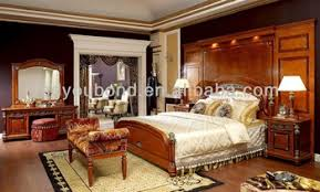 royal classic solid wood bedroom set high quality italian