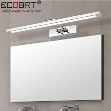 5w modern indoor bathroom mirror wall lights led stainless steel