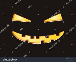 background halloween scary eyes mouth on black background stock vector 62641342