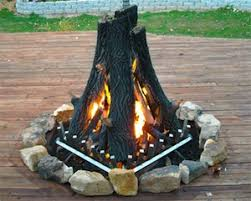 gas log fire pit table firepit logs