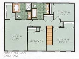 Floor Plans For Modular Homes Fine Colonial Modular Home Plans