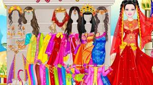 barbie persian princess dress play game