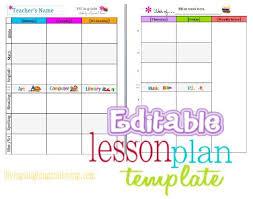 best 25 lesson plan templates ideas on pinterest lesson planner