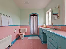 Pink Tile Bathroom Enjoyable Design Ideas Pink Tile Bathroom Home Designing