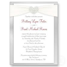 Catholic Wedding Invitation Wedding Invitation Examples Badbrya Com