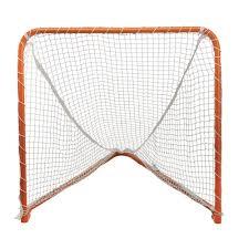 4x4 folding backyard box lacrosse goal with net