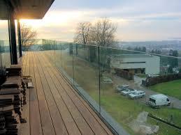 balkon glasscheiben balkonbrüstung panther glas ag