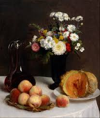 flowers and fruit file henri fantin latour still with a carafe flowers and
