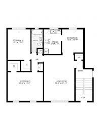 top simple house floor plans with design best kitchen floor plan