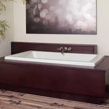 Bathtub Jacuzzi Acrylic Bathtub Whirlpool Chromotherapy Hydrotherapy Sia
