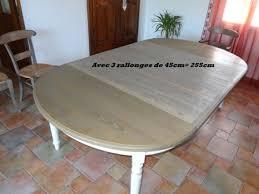 table ovale avec rallonge fabrication de meubles bardelletti a ales dans le gard l herault