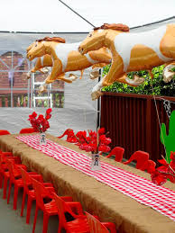 Cowboy Table Decorations Ideas Kara U0027s Party Ideas
