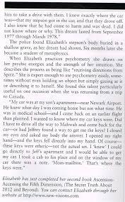 newsworthy psychic predictions for over 30 years elizabeth joyce