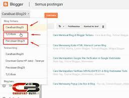 cara membuat blog tulisan cara membuat tulisan atau postingan di blogger carabuat blog29