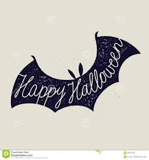 scary halloween signs halloween sign calligraphy scary bat lettering stock illustration