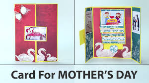 Latest Mother S Day Cards Diy Mother U0027s Day Cards Gatefold Handmade Card For Mother U0027s Day