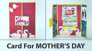 diy mother u0027s day cards gatefold handmade card for mother u0027s day
