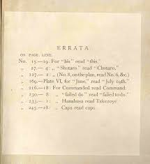 Errata Sheet Template Book 1895090130 Joseph Heco The Narrative Of A Japanese Volume