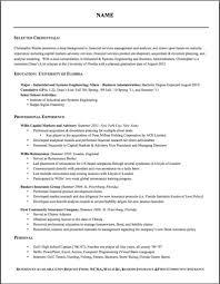 Proper Format For Resume Proper Resume Haadyaooverbayresort Com