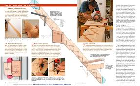 2 Step Stair Stringer by Building A Housed Stringer Stair