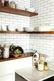 shelving ideas for kitchen floating shelves in kitchen ideas contemporary open shelving small