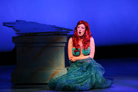 actress is in the swim as the u0027little mermaid u0027 at manatee players