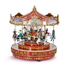 mr christmas mr christmas decker carousel musical gump s