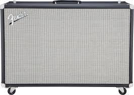 2x12 Guitar Cabinet Fender Super Sonic 60 212 120 Watt 2x12