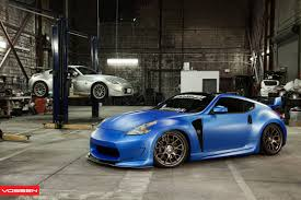 custom nissan 370z for sale modified nissan 370z fitted with lightweight vossen custom wheels