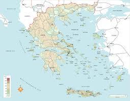 Greek Islands Map Rg B Format