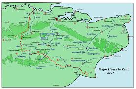 Underground River Map Rivers Of Kent Wikipedia