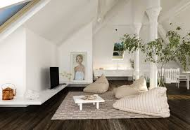 Livingroom Decor Ideas 39 Attic Living Rooms That Really Are The Best Adorable Home Com