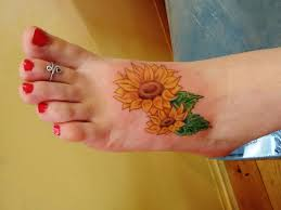 43 sunflower tattoos meanings photos designs for men and women