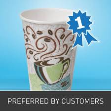 dixie cups dixie perfectouch 12 oz hot cups 50 pack staples
