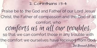 May The God Of All Comfort Faith U2013 Hannah P Simmons