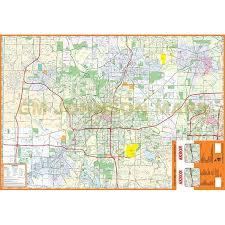 of akron map akron summit county ohio map gm johnson maps