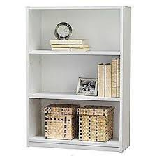 2 Shelf White Bookcase White Bookcase Ebay