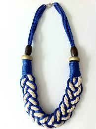 diy necklace with rope images 54 rope knot necklace gallery for celtic knot rope necklace jpg