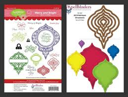 2011 2010 spellbinders heirloom ornament dies are in stock