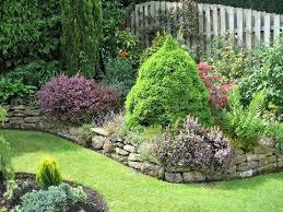 Rocks For Garden Edging Rock Garden Edging Home Design Ideas And Pictures
