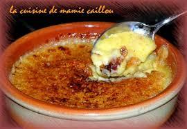 la cuisine de mamie crème brûlée la cuisine de mamie caillou