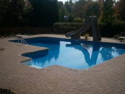 Pool Patio Pavers by Exterior Design Luxury Swimming Pool Design With Belgard Pavers