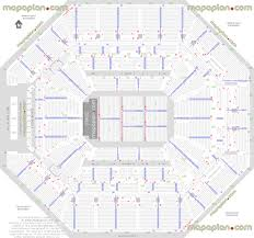 Detailed Floor Plan At U0026t Center Detailed Seat U0026 Row Numbers End Stage Concert