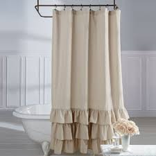 Bathroom Curtain Ideas For Shower Shower Grommet Curtains Bathroom Curtains And Inspiring Bathroom