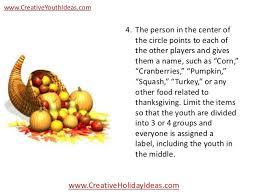 icebreakers fruit basket turnover thanksgiving version
